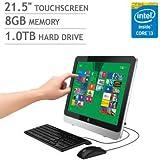 "HP 21.5"" Touchscreen All-in-One Desktop | Intel Core i3 | 1080p | 8GB RAM | 1TB HARD DRIVE"