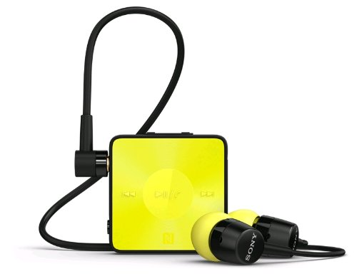 Sony SBH20 Yellow & Black Wireless NFC Bluetooth 3.0 In-Ear Headphones Stereo Headset Earbuds (Lime) Sony Bluetooth Headsets autotags B00HMYAUY8