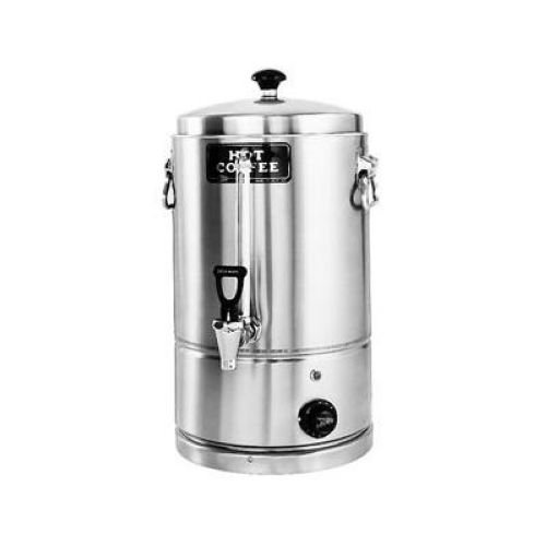 Grindmaster Stainless Steel Portable Coffee Holding Urn/Portable Hot Water Boiler, 5 Gallon -- 1 Each.