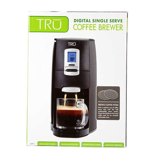 Tru Single Serve Pod Coffee Maker