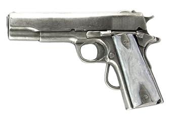 Pewter Belt Buckle - 45 Automatic - Pewter Belt Buckle