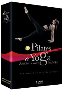 Coffret Power Yoga et Pilates