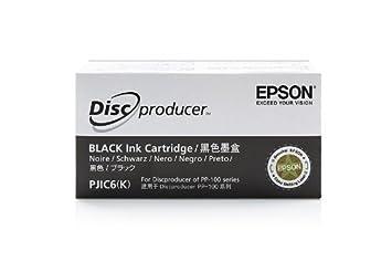 Epson Discproducer PP 100 - Original Epson C13S020452 / PJIC6 - Cartouche d'encre Noir