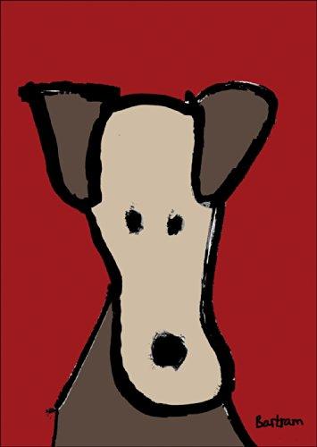 Verschicken Sie eine Grußkarte mit des Menschen bestem Freund - dem Hund • auch zum direkt Versenden mit ihrem persönlichen Text als Einleger.