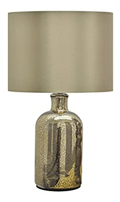Urban Shop Mecury Table Lamp, Gold
