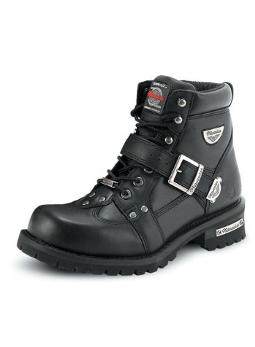 milwaukee-motorcycle-clothing-company-mens-road-captain-motorcycle-boots-size-95d