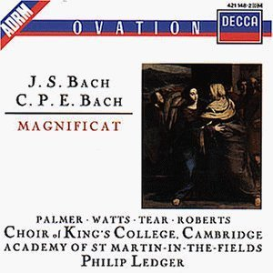 Bach: Magnificat /Sir Philip Ledger ,CHOIR OF KING'S COLLEGE