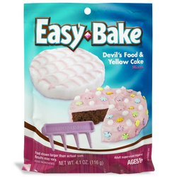 Hasbro Easy Bake Classic Mix - Devils Food And Yellow Cakes