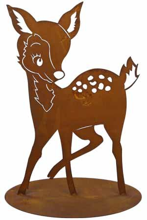 Rost Tier Reh 42 cm Hirsch Wald
