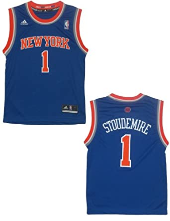 NBA New York Knicks Stoudemire #1 Youth Pro Quality Athletic Jersey Top by NBA