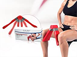 Thigh Toner - Firm and Shape Thighs, Blue, Cushioned Foam, Inner Thigh Workout to Master Your Thighs