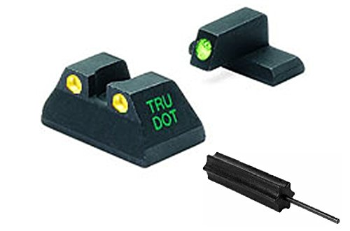 Meprolight The Mako Group Ml11517Y Heckler & Koch Tru-Dot® Night Sight Set Green/Yellow - Hk Usp Compact+ Ultimate Arms Gear Pro Disassembly 3/32 Pin Punch Armorers Gunsmith Tool