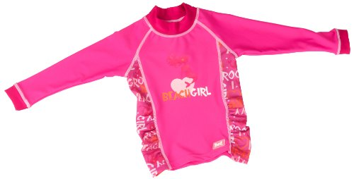 Baby BanZ Long Sleeve Rashy Top, Pink Grafitti, 18 Months