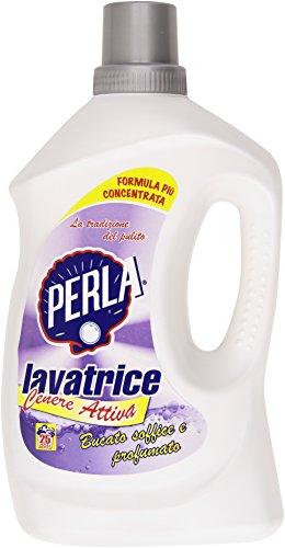 Perla - Cenere Attiva Lavatrice, Bucato Soffice E Profumato - 2150 Ml