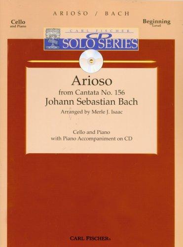 Arioso for Cello and Piano w/ acc. CD