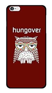 "Humor Gang Hungover Owl Printed Designer Mobile Back Cover For ""Apple Iphone 6 PLUS-6s PLUS"" (3D, Glossy, Premium Quality Snap On Case)"