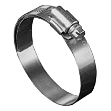 Precision Brand B-HL Series Shielded/Lined Worm Gear Hose Clamp
