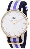 Daniel Wellington Classic Trinity Rosé Gold Women´s 36mm Round Case