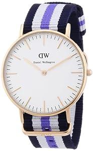 Daniel Wellington Women's Quartz Watch Classic Trinity Lady 0509DW with Plastic Strap