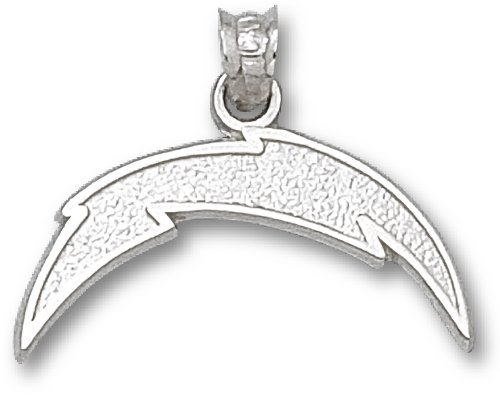 NFL San Diego Chargers Sterling Silver Lightning Bolt Charm at Amazon.com