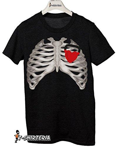 t-shirt Kettle heart, cuore, kettlebell peso, crossfitt allenamento - S M L XL XXL tutte le taglie uomo donna maglietta by tshirteria