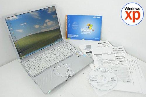 パナソニック(Panasonic) 【中古パソコン】ノートパソコン Panasonic レッツノート CF-W5 CoreSolo-1.20GHz 512MB 60GB DVDスーパーマルチ XP搭載 12.1型 1024x768 無線LAN リカバリ付