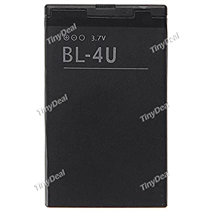 Tiny-Deal-1000mAh-BL-4U-Battery-(For-Nokia)