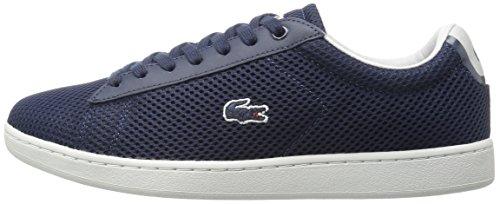 Lacoste Women's Carnaby Evo 416 1 Spw Fashion Sneaker, Navy, 6.5 M US
