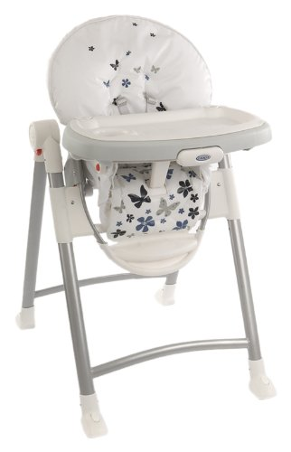 Graco Contempo Highchair (Butterfly Blue, 6-36 Months)