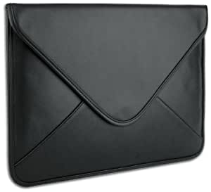 Luxurious Black Soft Synthetic Leather Envelope Sleeve Carrying Case Designed for Apple Ipad 1 Ipad 2 Ipad 3 Ipad Air / Kindle Fire Hd / Samsung Galaxy Tab 10.1