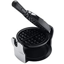 Oster CKSTWFBF10 Belgian Flip Waffle Maker Black