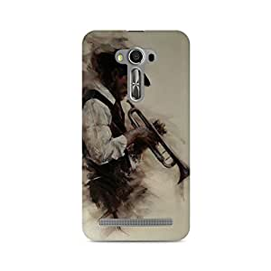 Mobicture Man Illustrated Premium Designer Mobile Back Case Cover For Asus Zenfone 2 Laser ZE500