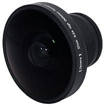 "Opteka Platinum Series 37mm 0.2X HD Panoramic ""Vortex"" Fisheye Lens for Digital & Video Cameras"