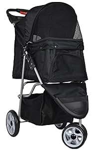 VIVO Three Wheel Pet Stroller, for Cat,