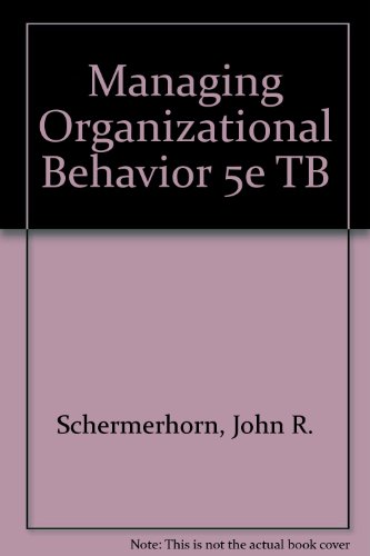 managing organizational behavior Management and organizational behavior are affected by multiple issues within an organization, from the type of work done, to the industry, to the rules and policies.
