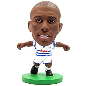 Queens Park Rangers F.C. SoccerStarz Mbia- stephane mbia- soccerstarz figure- 2 inches tall- with collectors card- in blister pack- official licensed product by Limited Stock / Collectables