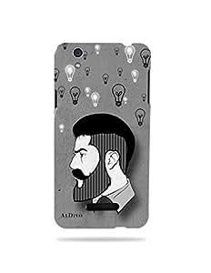 alDivo Premium Quality Printed Mobile Back Cover For Yu Yureka / Yu Yureka Back Case Cover (MKD127)