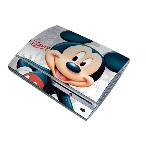 Disney Mickey PS3 Playstation 3 Body Protector Skin Decal Sticker, Item No.PS30853-83