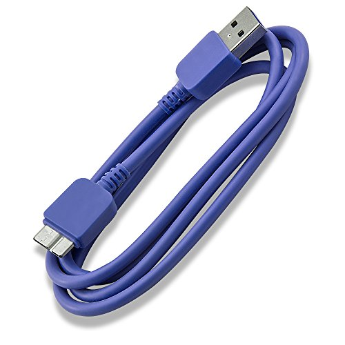 "1m USB 3.0 Speed Kabel A an Micro B f CnMemory Zinc Spaceloop externe Festplatte HDD CnMemory Airy, CnMemory Vario, CnMemory Spaceloop, CnMemory Zinc silber, blau, violett, rot, schwarz, 3,5"" USB 3.0 externe Festplattegehäuse CnMemory (blau)"
