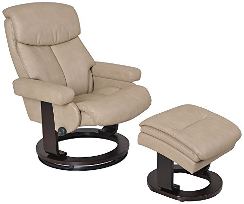 Swivel Recliner With Ottoman front-425933