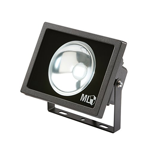 KNIGHTSBRIDGE FLE50BKB - IP65 230V 50w LED DIE CAST ALUMINIUM FLOODLIGHT BLACK