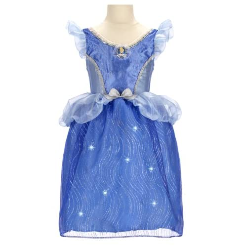 Disney Store Cinderella Light Up Costume Fancy Dress: Disney Princess Cinderella Feature Light-Up Dress