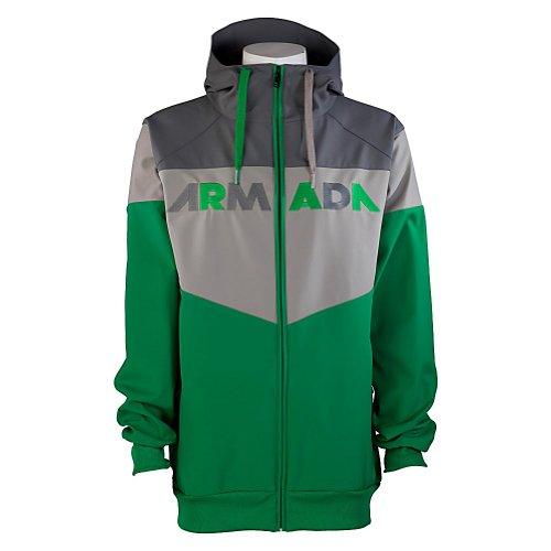 Armada Rekon Softshell 2L Hoodie X-Large Green