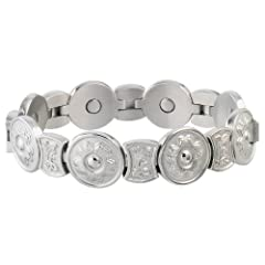 Buy Sabona Round Flower Stainless Magnetic (Various Sizes) by Sab