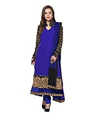 Yepme Chante Unstitched Suit - Blue -- YPMRTS0121_Free Size