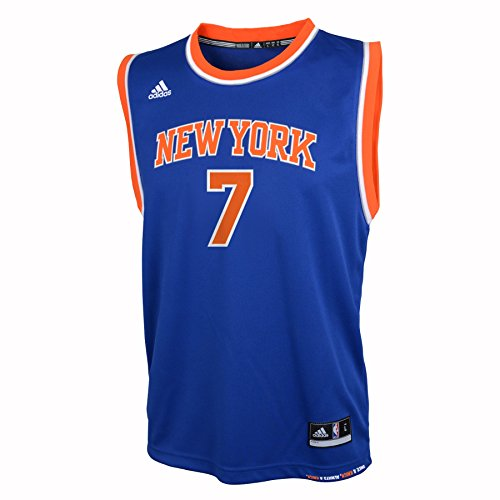 NBA New York Knicks Anthony C # 7 Boys 8-20 Replica Road Jersey, Medium (10/12), Blue (Nba Jersey New York Knicks compare prices)