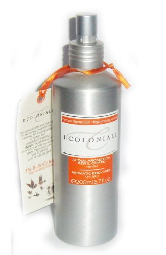 I Coloniali Acqua Corpo Alla Mirra Spray Unisex 200 ml