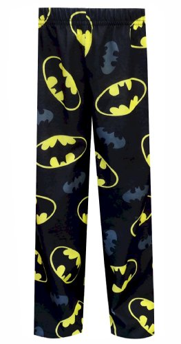 Dc Comics Batman Bat Symbols Pajama Pants For Boys (6/8) front-554428