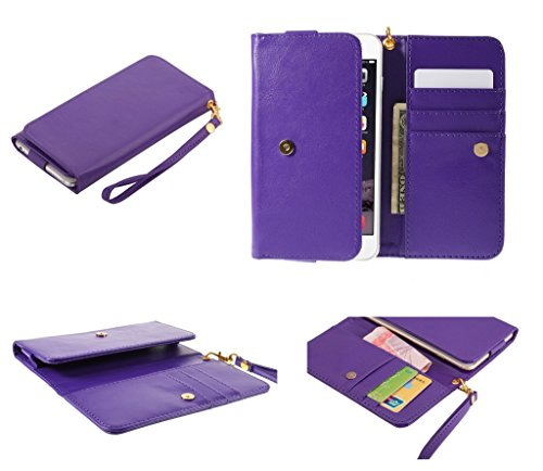 dfv-mobile-cover-premium-crazy-horse-pu-leather-wallet-case-with-card-slots-for-general-mobile-disco