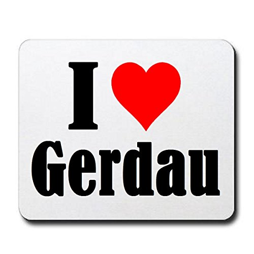 exclusive-gift-idea-mouse-pad-i-love-gerdau-in-white-a-great-gift-that-comes-from-the-heart-non-slip
